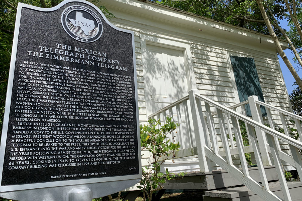 Zimmerman Telegram Shack And Historical Marker