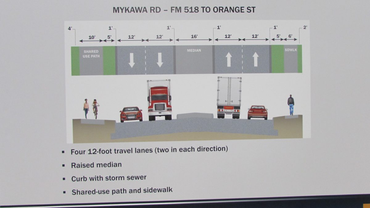 Pearland Residents Have Questions About Proposed Mykawa Road