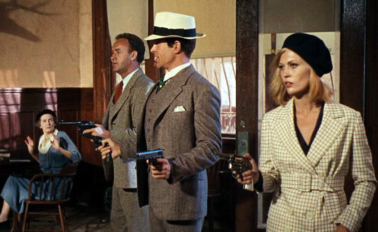 Bonnie and Clyde 1967 Movie Scene