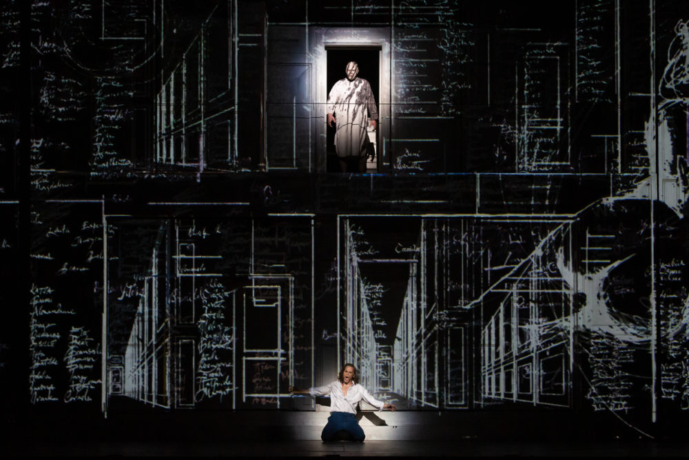 Production photo of Don Giovanni at Houston Grand Opera