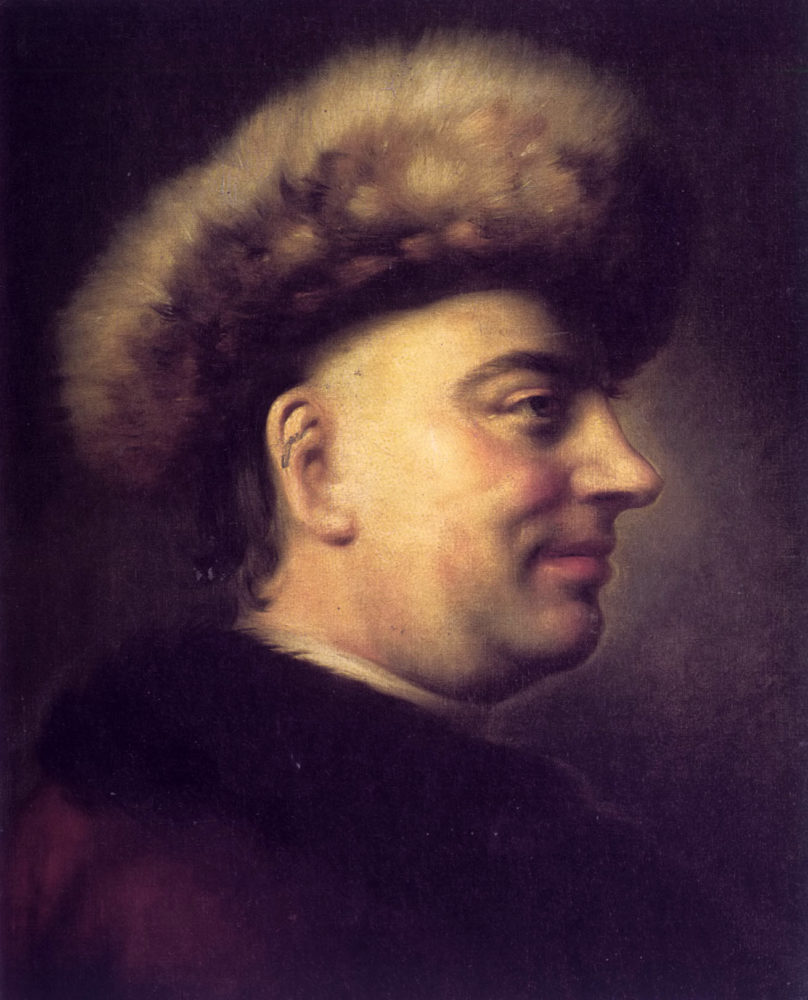 oil painting portrait of Barthold Heinrich Brockes