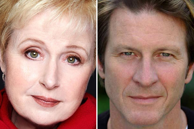Sally Mayes and Brett Cullen