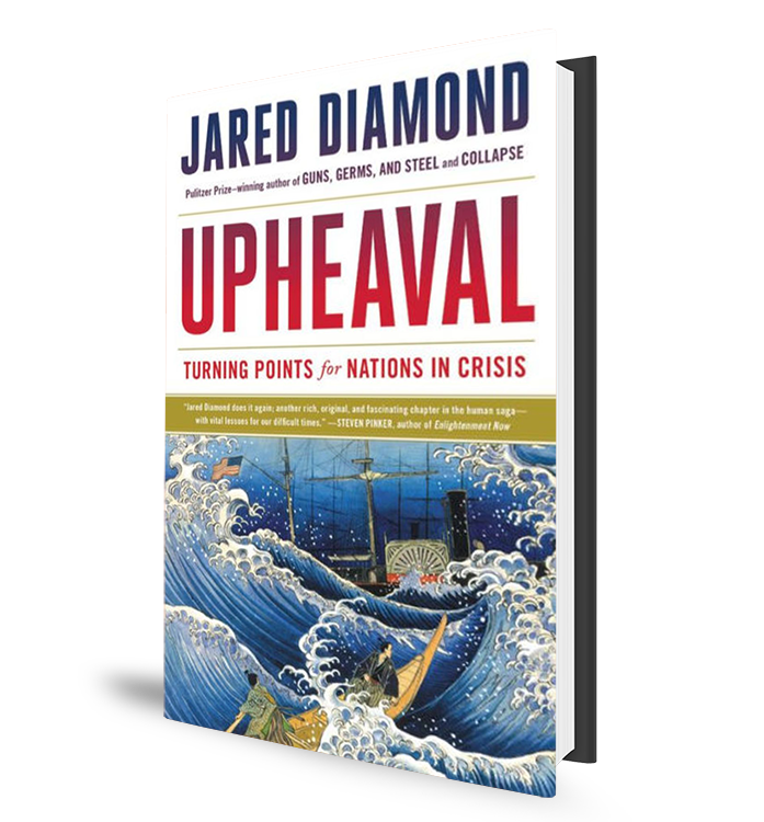 Upheaval Book - Jared Diamond
