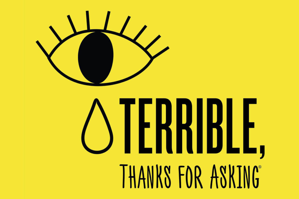 Terrible Thanks For Asking Logo