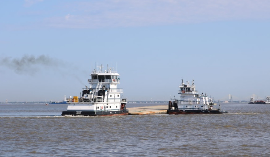 Crews Remove Barges Involved In Spill From Houston Ship