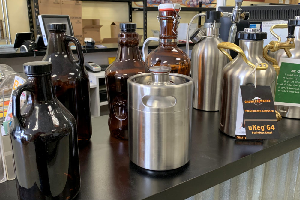Growler and Kegs