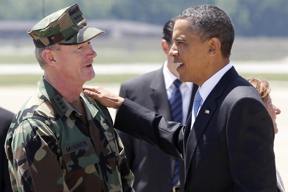 Barack Obama and William McRaven