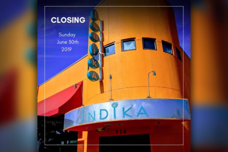 Indika Restaurant Closing