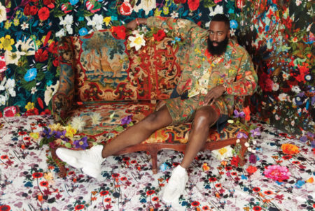 James Harden GQ Portrait