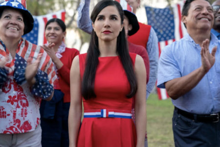 Martha Higareda in Culture Shock