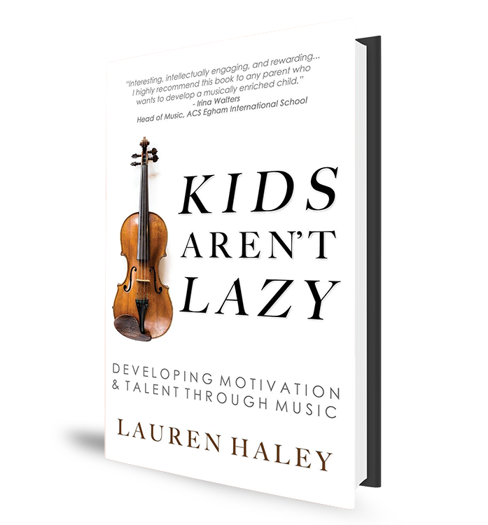 Kids Aren't Lazy Book