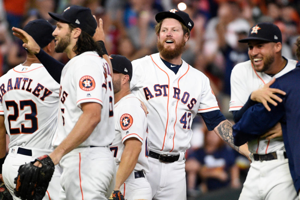 Astros Combined No-Hitter