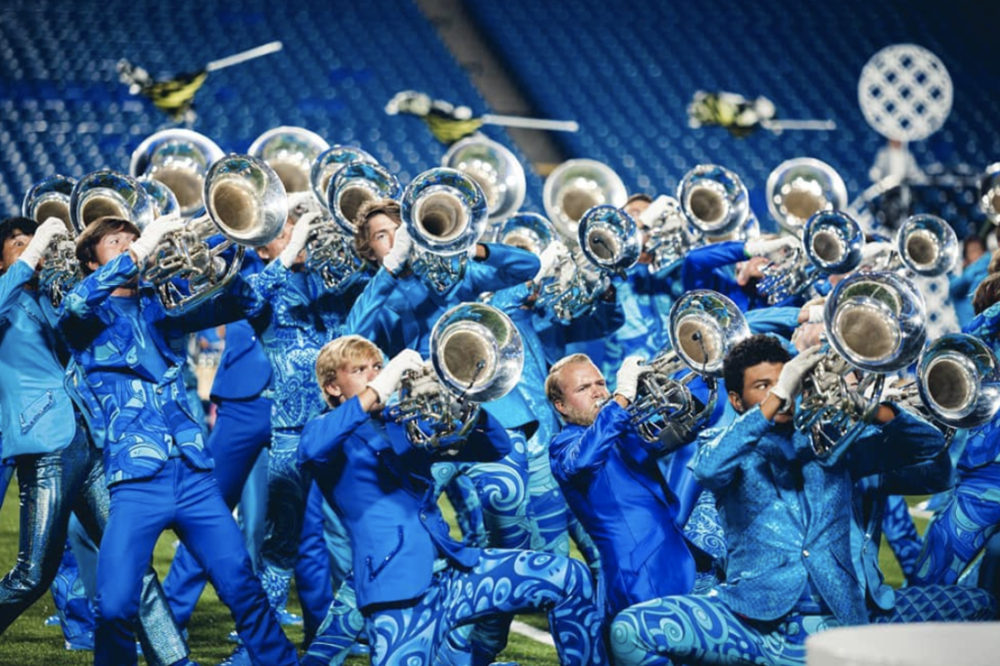 Bluecoats Horn Section