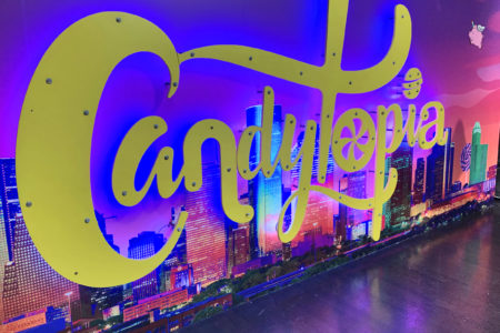 Candytopia Sign