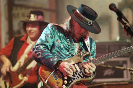 Musician Stevie Ray Vaughan