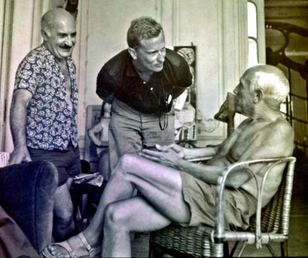 Fred Baldwin With Pablo Picasso