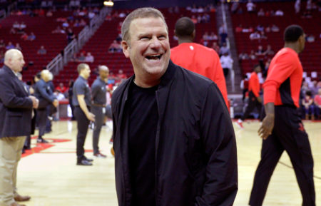 Tilman Fertitta at a Rockets Game