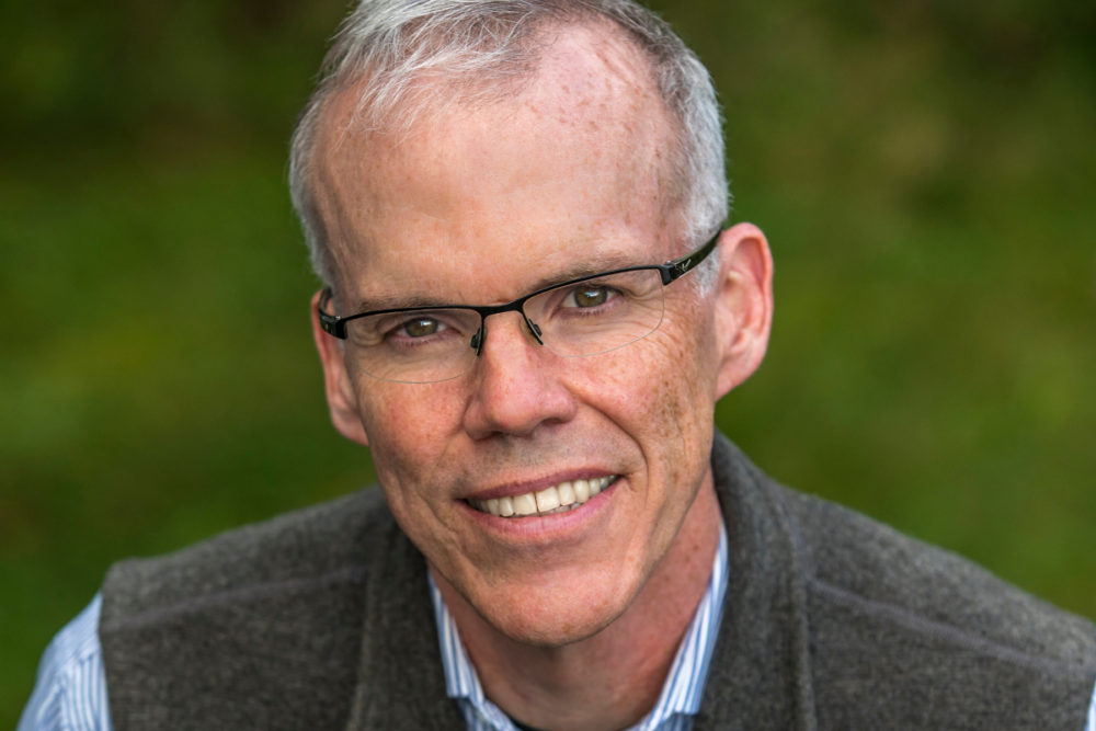 Author and environmental activist Bill McKibben