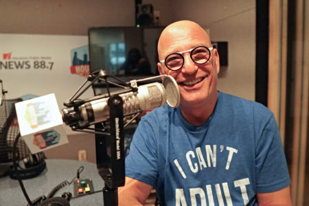 Howie Mandel in the Houston Matters Studio
