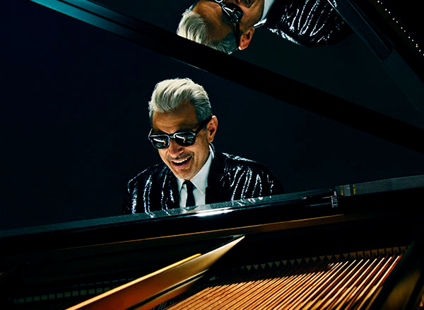Jeff Goldblum Playing Piano