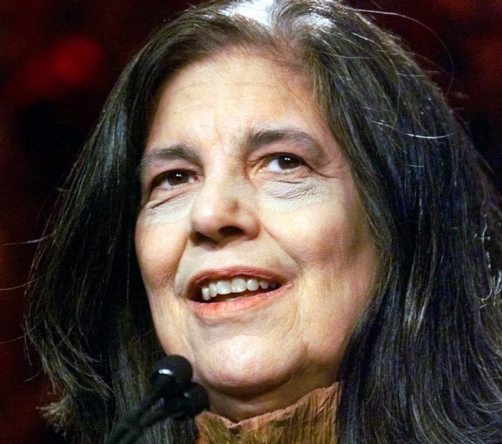 Susan Sontag at the National Book Awards in 2000