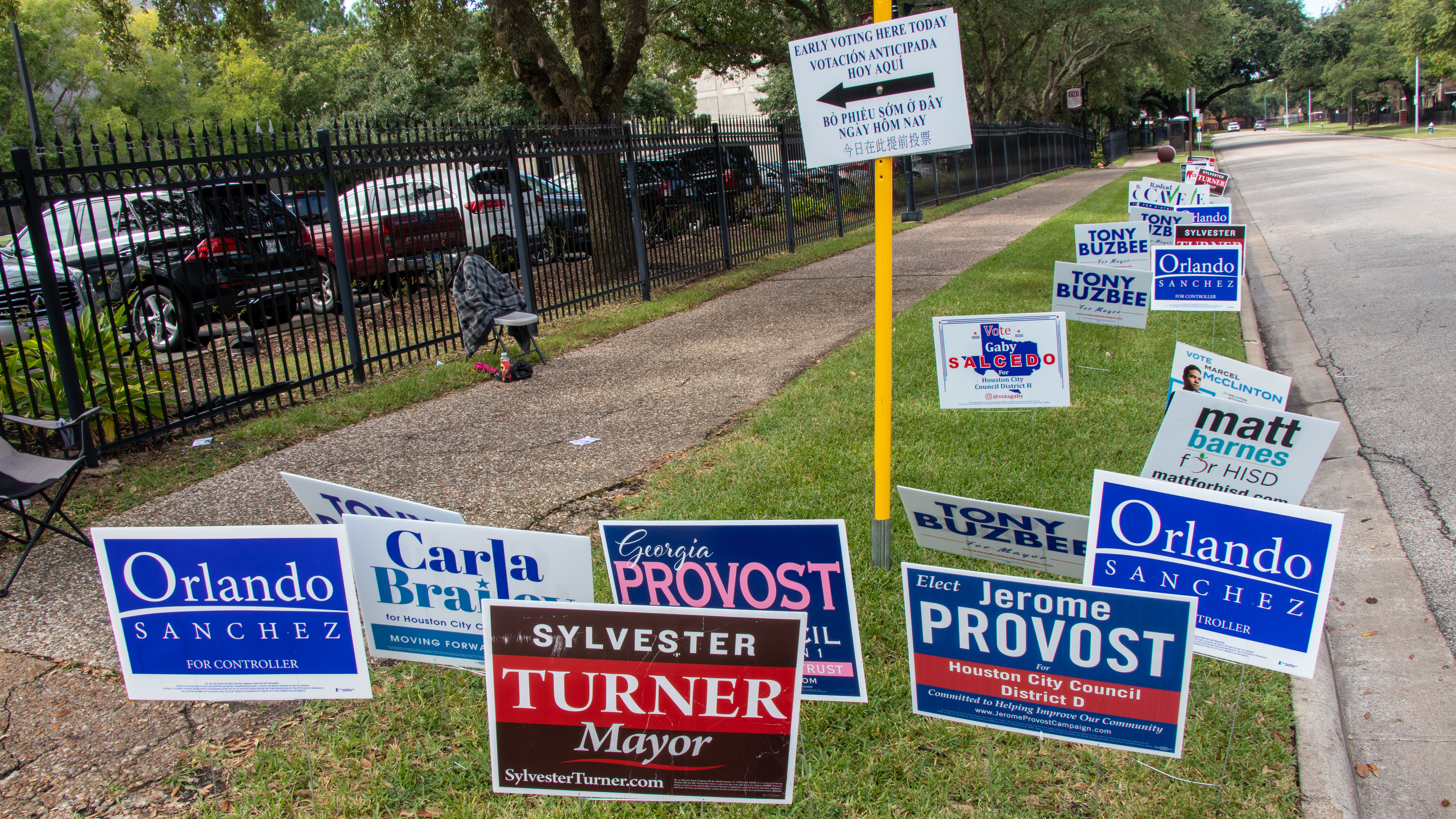 Texas Southern University is a new addition to early voting locations.