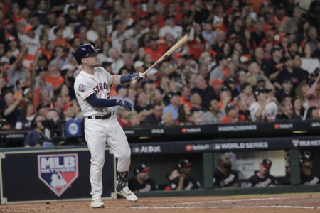 Alex Bregman's 1st Inning Homer, Game 6