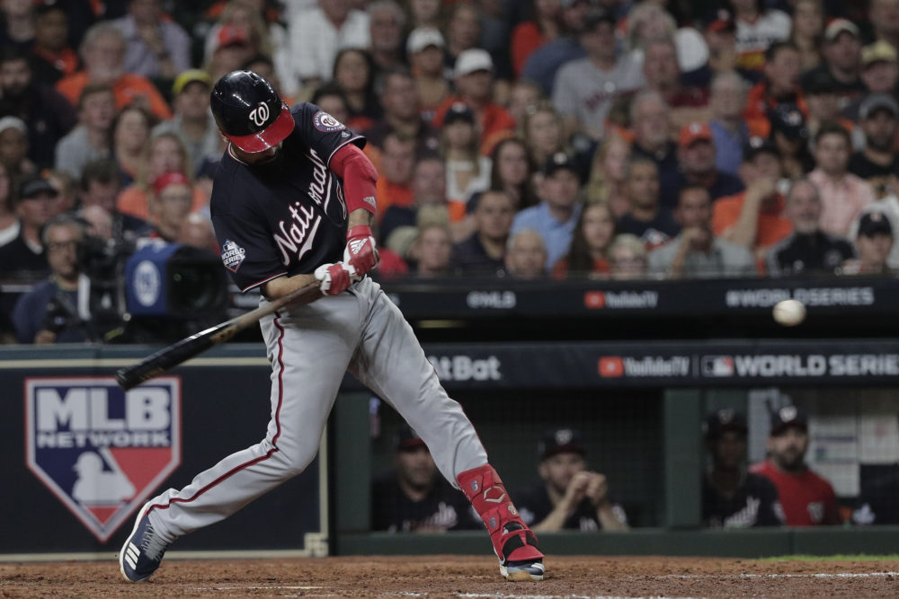 Anthony Rendon Homers in Game 6 of the World Series