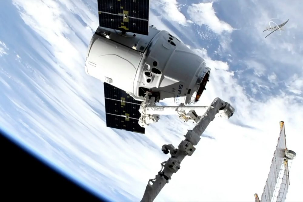 SpaceX Shipment Arrives at ISS