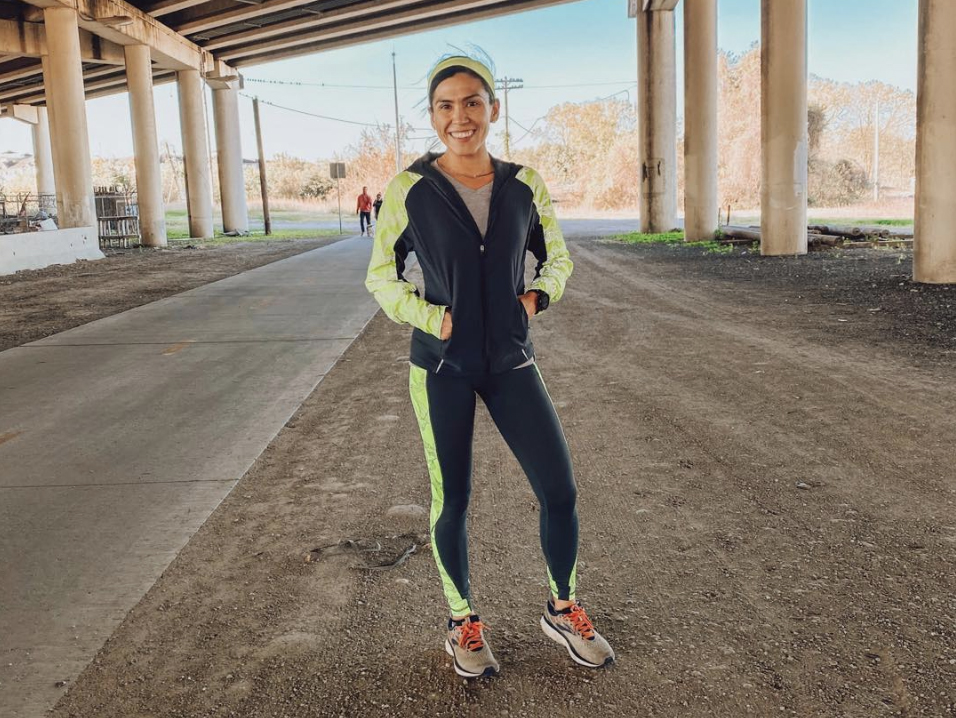 Houston runner Starla Garcia