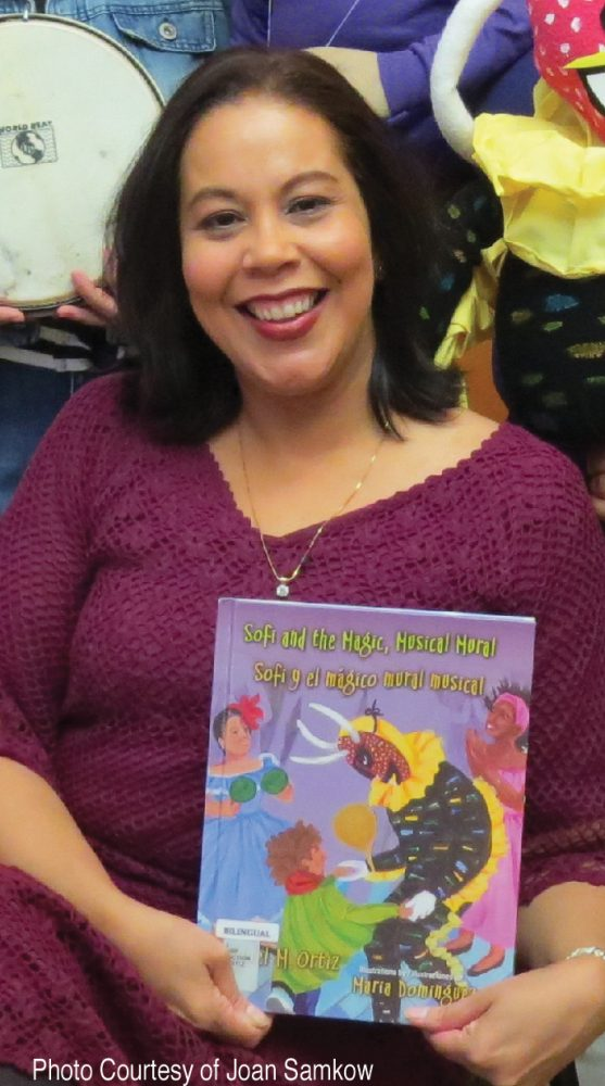 Dr. Raquel M.  Ortiz, Author of When Julia Danced Bomba and Sofi Paints Her Dreams