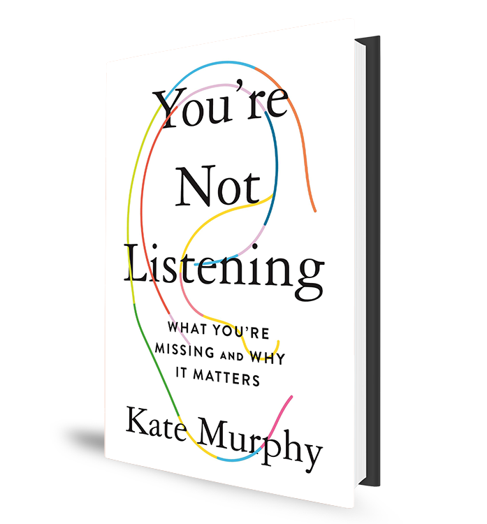 You're Not Listening Book