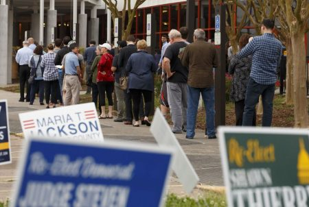Trib Polling Place