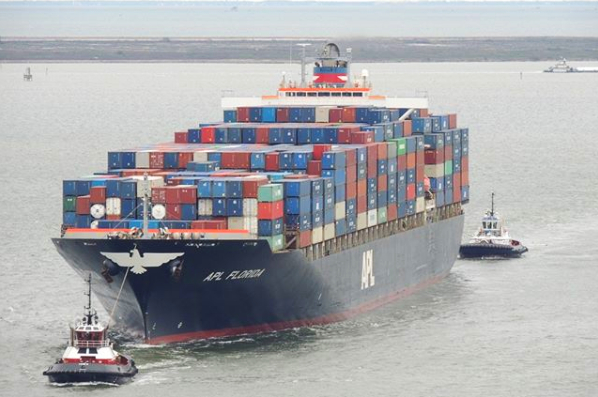Container Ship - Port of Houston IG