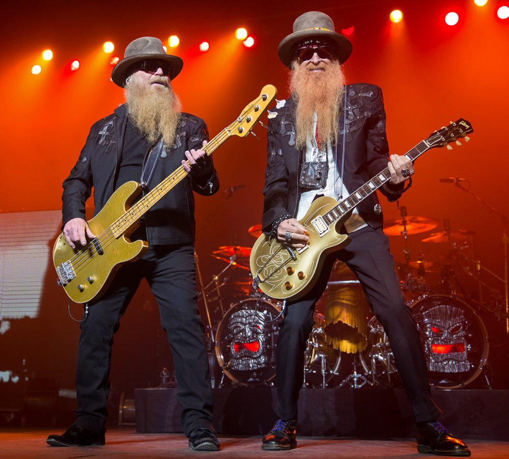 ZZ Top Peforming in 2015